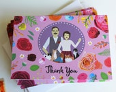 Thank You Note, Wedding Invitation Add-on, Design Fee