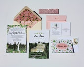 Most Popular Cards, Discounted Wedding Invitation Bundle, Save the Date, Invite, RSVP, Map / Reception Card, Thank You Note, Design Fee