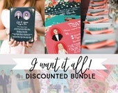 I want it all! Discounted Wedding Bundle, Design Fee