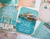 Destination Wedding, Discounted Wedding Bundle, Couple Portraits, Destination Wedding Invitations, Wedding Map, Custom Map, Design Fee