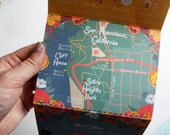 Tri-Fold Wedding Invitation, Custom Map, RSVP Card, and Invitation, Design Fee