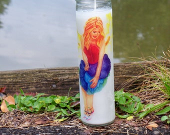 Iris Pagan Prayer Candle