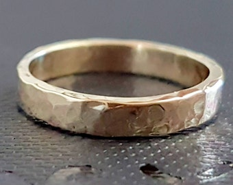 Gold Wedding Band Ring, 9K Gold Ring, Classic Band Ring, Gold Rings, Handmade, Timeless Rings, Bridal Jewelry, Gold Jewelry, Venexia Jewelry