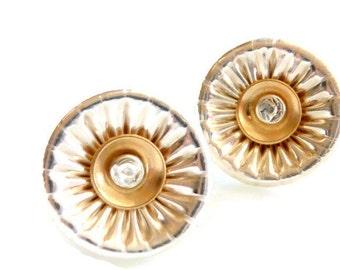 Silver & Gold VE Studs