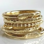 Five Stacking Rings Set