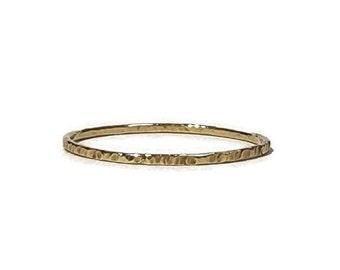 Whisper Ring - Thin Ring - 14k 18k Gold Choice - Handmade Ring
