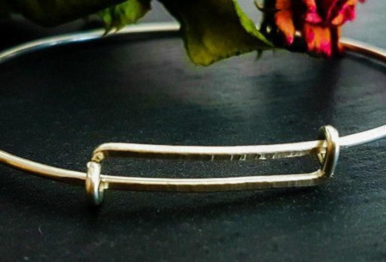 Silver Expandable Bracelet image 0