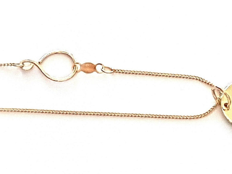 14k Gold Chain Necklace image 0