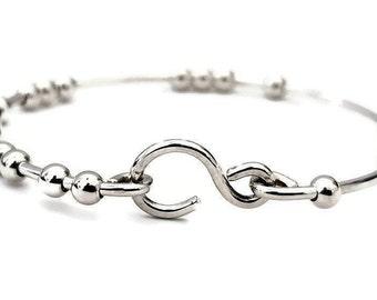 18 Chai Good Luck Bracelet - 925 Silver - Handmade Bracelet