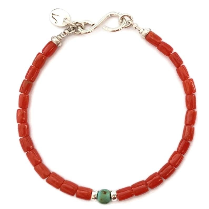 Mediterranean Coral Bracelet image 0