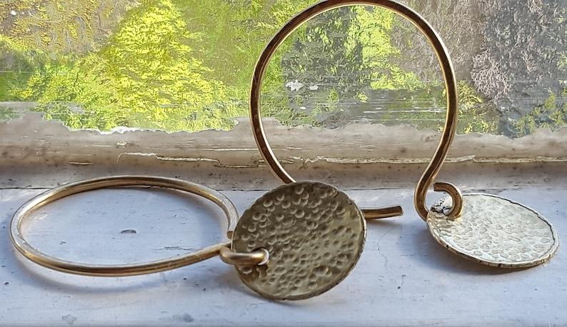 Charmed Hoops 14k Gold image 0