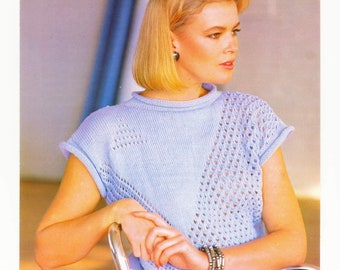 not the finished garments KINGCOLE 5348 4ply  KNITTING PATTERN  28-46 INCH