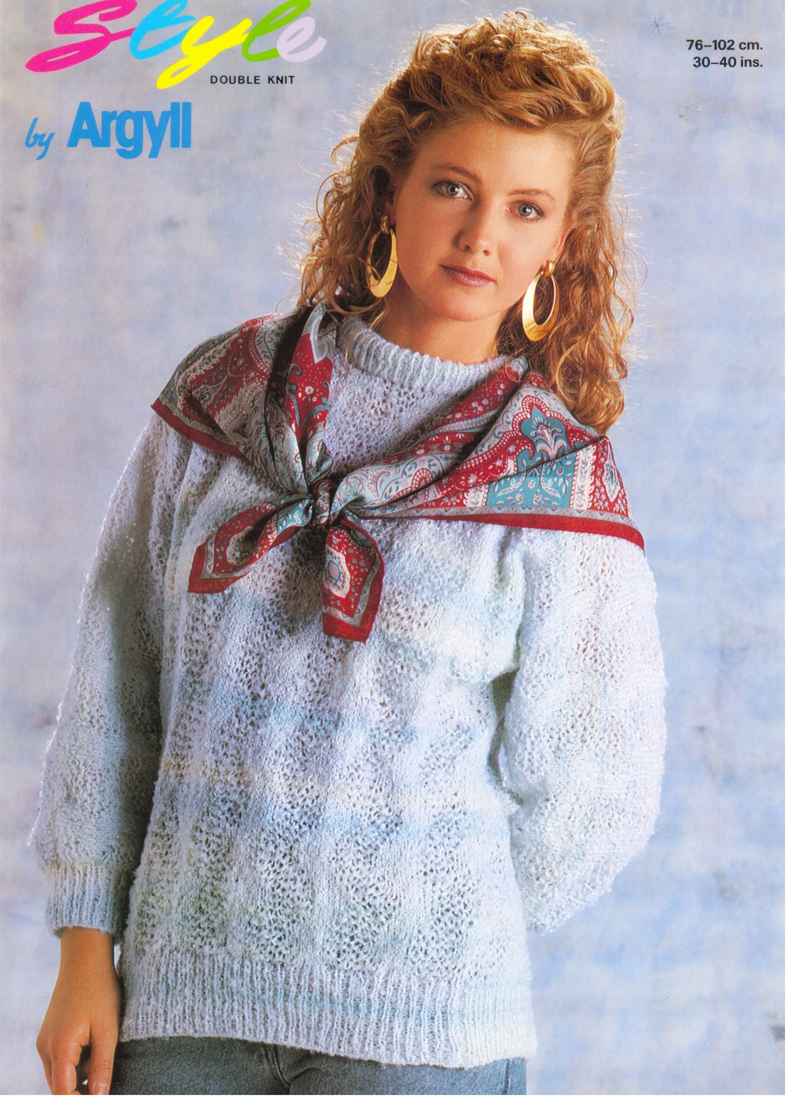 4441411d4 Women s Sweater KNiTTING PATTERN Argyll Knitting Pattern