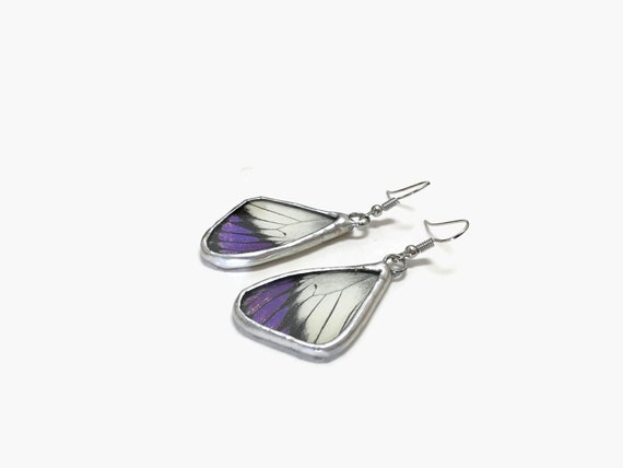 Real Butterfly earrings, Unique Gifts for her, statement jewelry, jewelry for her, Unique gifts, butterfly taxidermy, Butterfly gifts, gifts