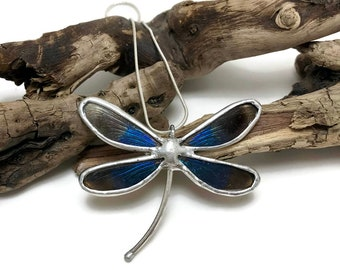 Real dragonfly jewelry, dragonfly jewelry, real butterfly jewelry, dragonfly, dragonfly wing Necklace, dragonfly pendant, insect jewelry