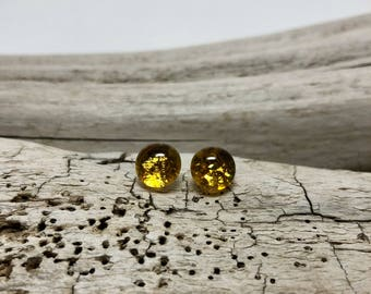 Glass earrings, Glass studs, dichroic glass studs, studs, dichroic glass earrings, glass,  Stud earrings, posts