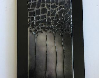Glass art, Fused glass, handmade fused glass, fused glass wall panel, Fused Glass art, handmade fused glass panel, fused glass wall art