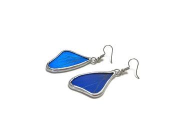 Real butterfly earring