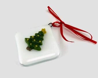 Fused glass, ornament, Christmas, glass, handmade, home decor,handmade glass ornament, handmade fused glass, ornament, Christmas ornament