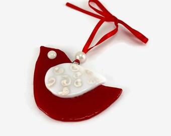 Fused glass, handmade fused glass ornament, handmade fused glass, Christmas, glass Christmas ornament, Christmas ornament, Dichroic glass