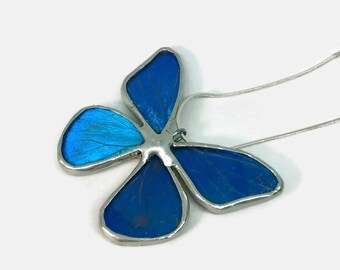 Real butterfly necklace, Real butterfly jewelry, butterfly wing, Butterfly pendant, glass jewelry, insect pendant, Insect jewelry, glass
