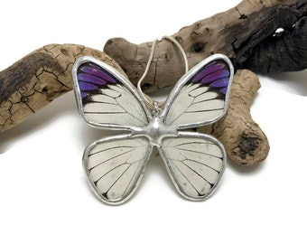 Real butterfly, real butterfly jewelry, handmade butterfly jewelry, real butterfly pendant,Real Butterfly Wing Necklace, butterfly Pendant
