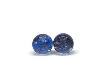 Glass studs, glass jewelry, handmade fused glass, studs, glass earrings, Fused glass, fused glass earrings, Fused Glass stud earrings