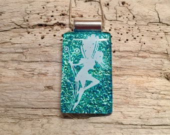dichroic glass jewelry, fairy pendant,glass,fused glass,Dichroic Glass Pendant,Fused Glass Jewelry,Fused Dichroic Necklace,glass jewelry