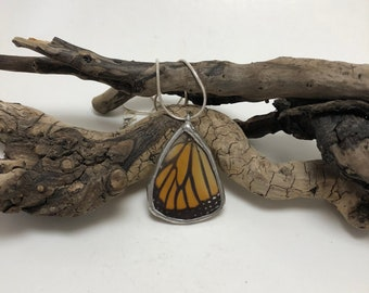 Butterfly Jewelry, Butterfly Necklace, monarch Pendant, real butterly jewelry, insect jewelry, butterfly jewelry, butterfly pendant, monarch