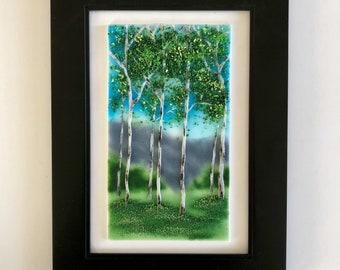 Glass art, Fused glass, handmade fused glass, glass wall panel, Fused Glass art, handmade fused glass panel, glass wall art, home decor