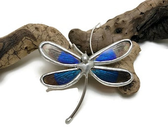 Real dragonfly jewelry, dragonfly pendant, real butterfly necklace, real dragonfly wing Necklace, insect pendant, insect jewelry