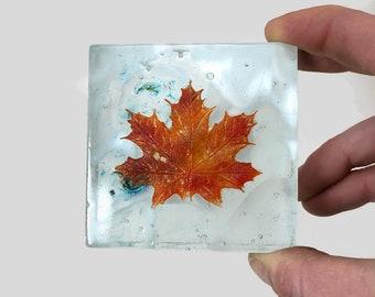 Fused glass art, glass art, home decor, glass home decor, glass paper weight, glass sculpture, glass paper weight, Glass ornament, glass