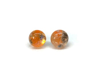Dichroic Glass jewelry, fused glass earrings, dichroic glass earrings, glass studs, dichroic glass stud earrings, glass,  Stud earrings