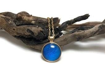 Jewelry, butterfly, handmade,Real Butterfly jewelry,butterfly Wing Necklace, Blue Morpho Pendant, butterfly wing pendant, butterfly necklace