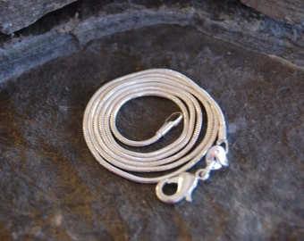 Sterling Silver Chain 24inch