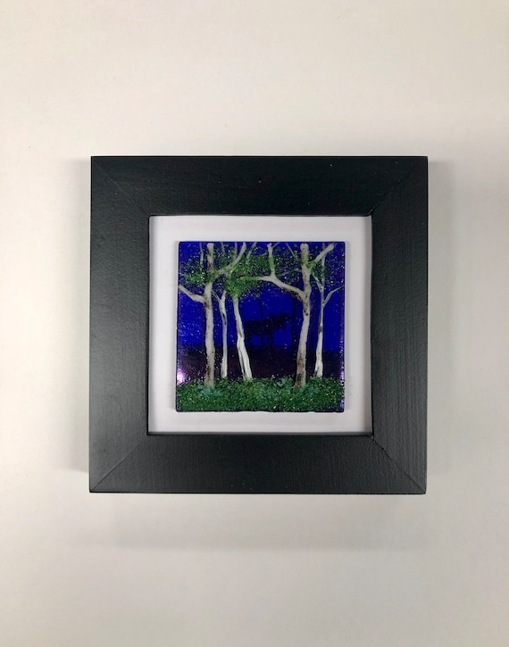 Fused Glass art, unique gifts for her, glass wall art, unique art, glass art, glass wall panel, Glass panel, home decor, glass sculpture