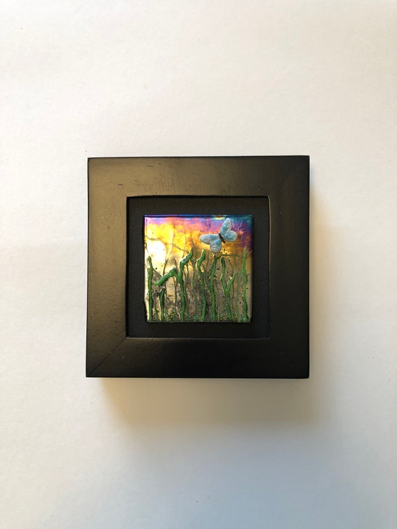 Glass art, unique art, fused glass art, unique gifts for her, glass wall panel, Glass panel, glass home decor, glass sculpture, Unique gifts