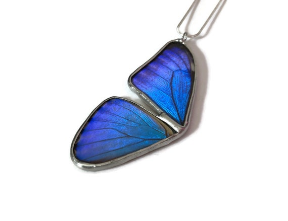 Butterfly Jewelry, jewelry for her, insect Necklace, Unique gifts for mom, Real Butterfly wing, butterfly pendant, butterfly taxidermy, gift