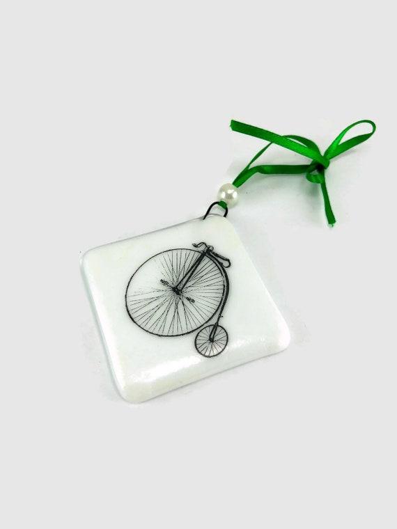 Fused glass ornament, fused glass art, fused glass decoration, Christmas decoration, glass ornament, Christmas ornament, home decor, glass