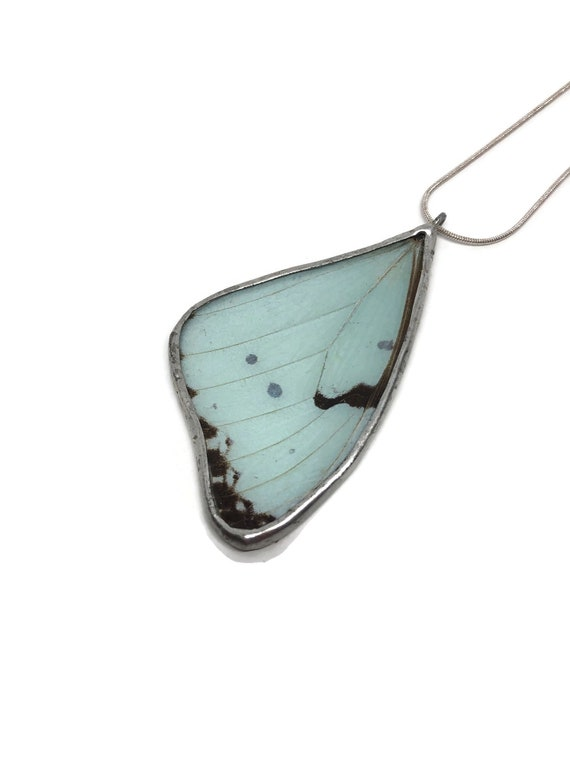 Real Butterfly jewelry, unique gifts for her, Statement jewelry, unique gifts, real butterfly Wing, statement pendant, insect jewelry, gifts
