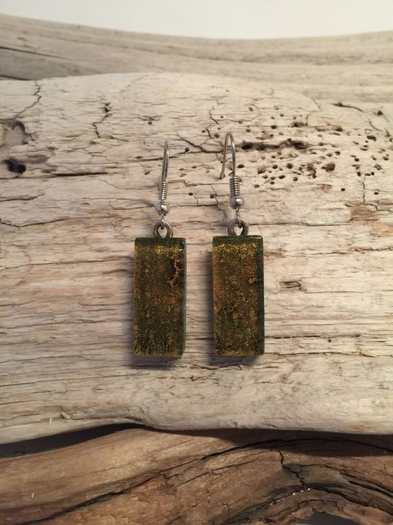 Glass jewelry, statement jewelry, Dichroic glass jewelry, unique jewelry, fused glass jewelry, fused glass earrings, unique gifts for mom