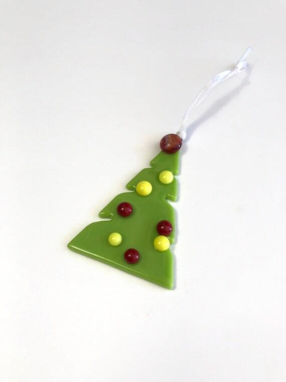 Christmas ornament, fused glass ornament, Unique gifts, tree ornament, unique art, unique gifts for her, Christmas decor, unique gifts