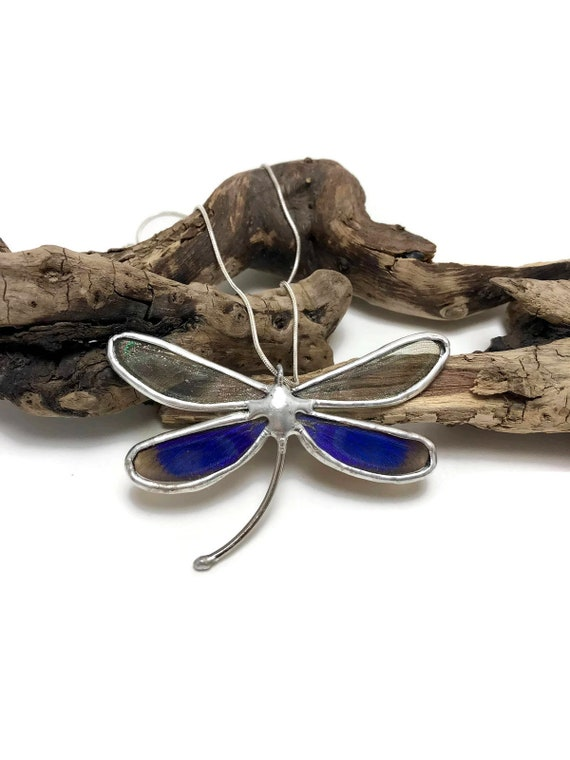 dragonfly necklace, Unique gifts, Real dragonfly jewelry, gifts for her, dragonfly jewelry, butterfly necklace, insect necklace, dragonfly