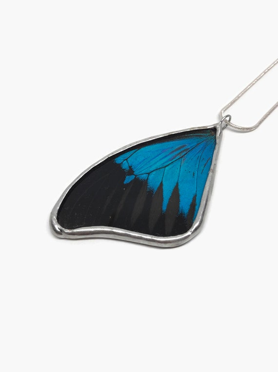 Butterfly necklace, Unique gifts for her, Jewelry for mom, unique jewelry, real butterfly wing, insect jewelry, butterfly taxidermy, gifts