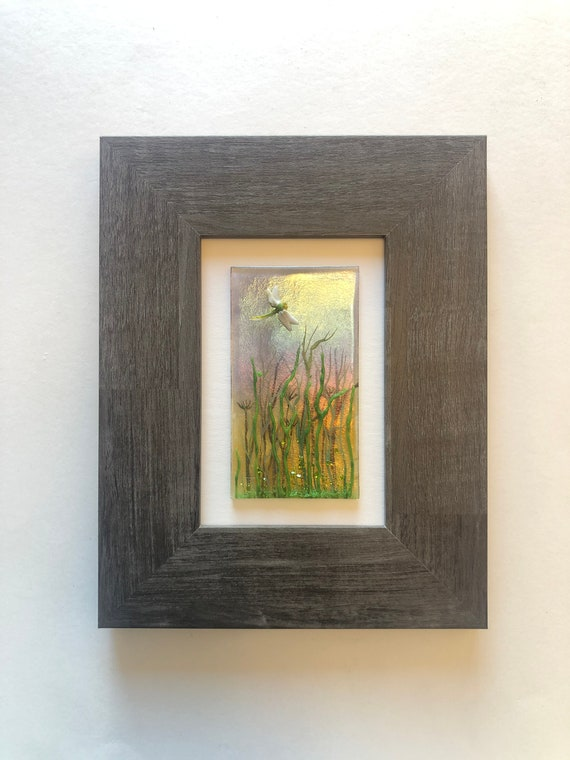 Glass art, Unique gifts for her, Fused glass art, unique art, glass wall panel, Glass home decor, glass sculpture, glass wall art, gifts