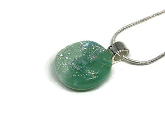 glass jewelry, sparkle pendant, fused Glass Pendant, Dichroic Glass Jewelry, glass necklace, statement pendant, best friend gifts