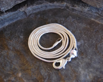 Sterling Silver Chain 22inch