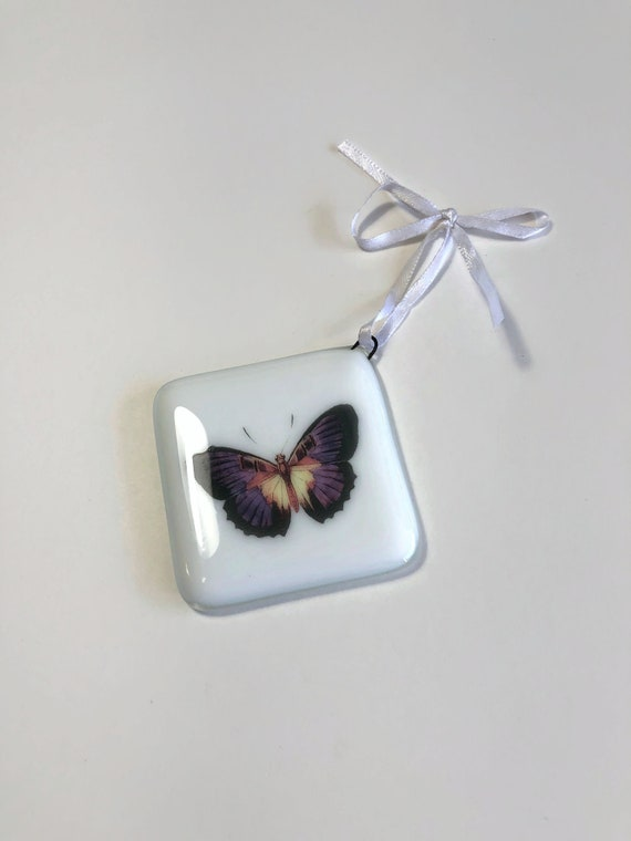 glass ornament, unique gifts, christmas gifts, gifts for her, fused glass decoration, Christmas decoration, Unique ornament, christmas decor