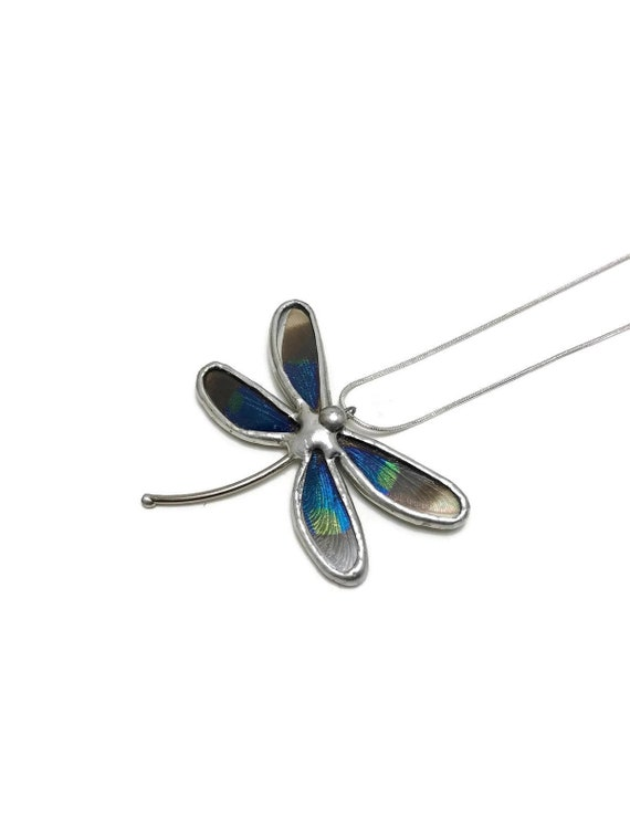 Dragonfly jewelry, gifts for mom, Jewelry for her, bridesmaid gifts, unique jewelry, insect jewelry, butterfly taxidermy, bridal jewelry