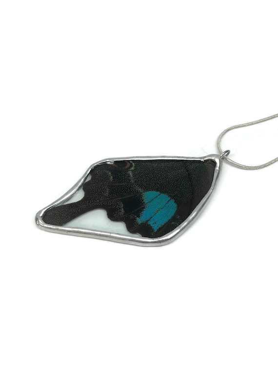 Butterfly jewelry, unique gifts for her, real butterfly wing, butterfly pendant, Unique jewelry, Butterfly Necklace, butterfly taxidermy